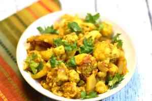 Aloo Gobhi Instant pot / Stove-top