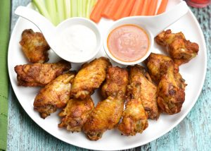 Instant pot Chicken wings Oven Baked wings
