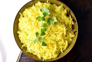 Saffron-rIce-Pilaf
