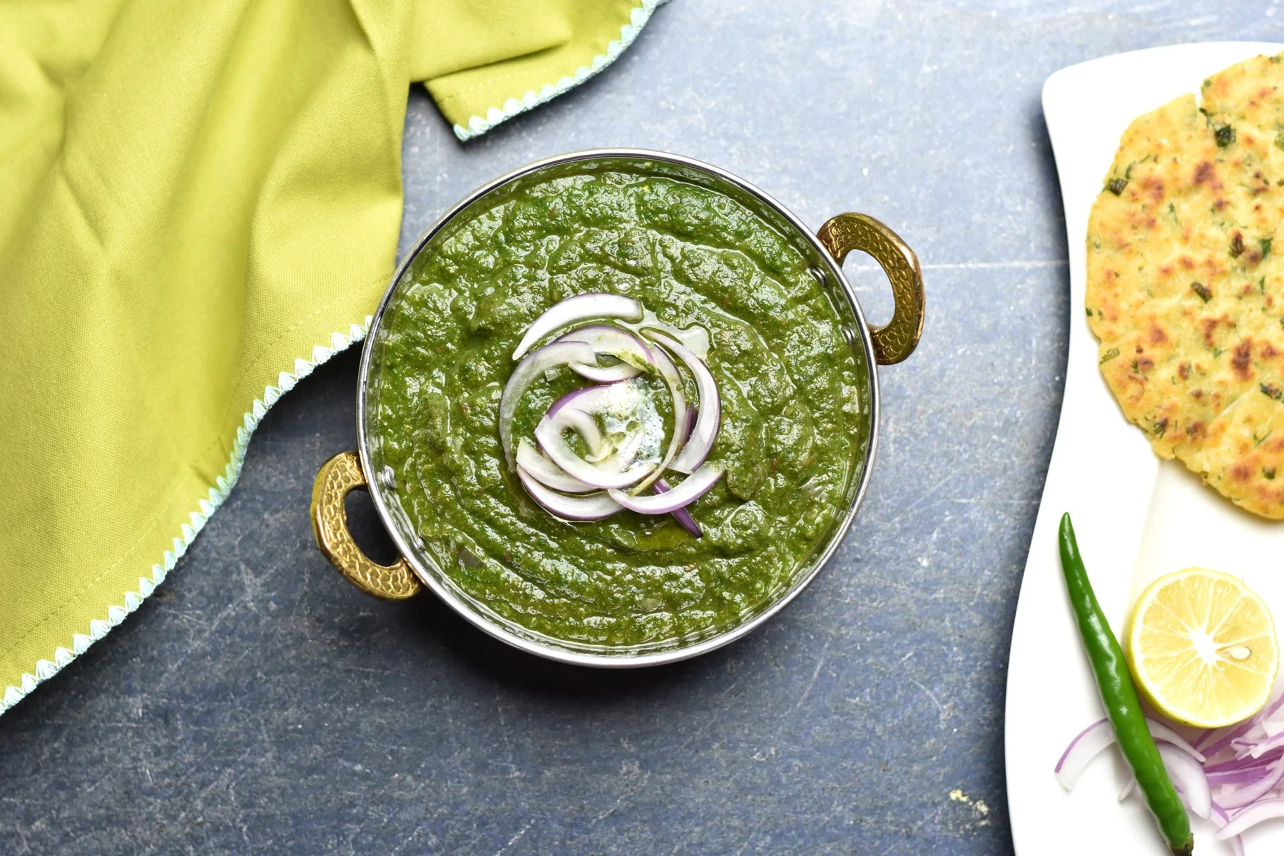 Instant pot indian recipes archives spice cravings quick and sarson ka saag indian spiced mustard greens by spice cravings sarson ka saag is forumfinder Choice Image