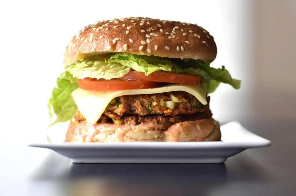 Veggie Bean Burger, instant pot recipes