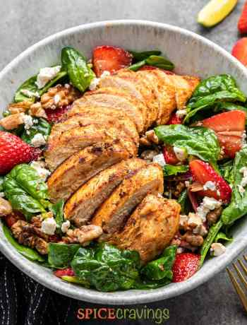 Grilled Cajun Chicken Salad