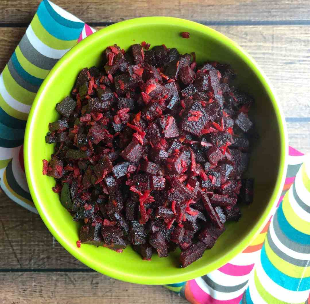 Instant pot indian recipes archives spice cravings quick and beet coconut stir fry beetroot thoran is a quick and easy stir forumfinder Choice Image