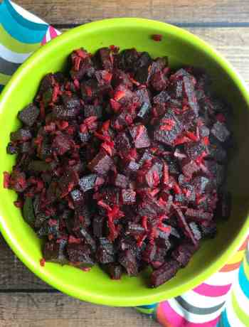 Beet Coconut Stir-Fry (Beetroot Thoran) is a quick and easy stir-fry of chopped beets with grated coconut. I lightly season it with salt, turmeric and coriander, and finish it with a squeeze of fresh lime juice. This light and refreshing dish does full justice inhighlighting the sweet and earthy flavors of beets.#food #foodie #foodblogger #delicious #recipe #instantpot #recipes #easyrecipe #cuisine #30minutemeal #instagood #foodphotography #tasty #indian #coconut
