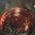 This recipe for2-ingredient Plum Jam is like summer in a jar! Sweet & tart plums cooked with sugar, and reduced to a thick, spreadable consistency!Yum! #food #foodie #foodblogger #delicious #recipe #instantpot #recipes #easyrecipe #cuisine #30minutemeal #instagood #foodphotography #tasty #jam #plums #preserves #condiments