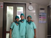 Surgery crew :-)