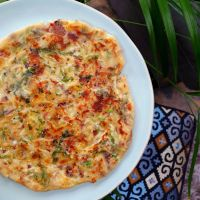 Chilli Cheese Parathas