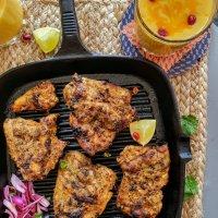 Tandoori Chicken & Mango Lassi Shake