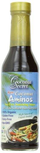 Coconut Secret Raw Organic Vegan Coconut Aminos 8 Fl Oz