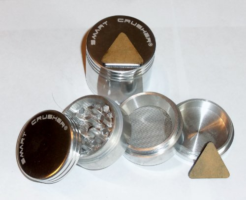 AUTHENTIC SMART CRUSHER® Small 44mm Herb, Spice or Tobacco , Pollen Kitchen Grinder