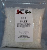 Extra Coarse Sea Salt, 1 lb.