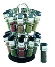 Olde Thompson 20-Jar Flower Spice Rack