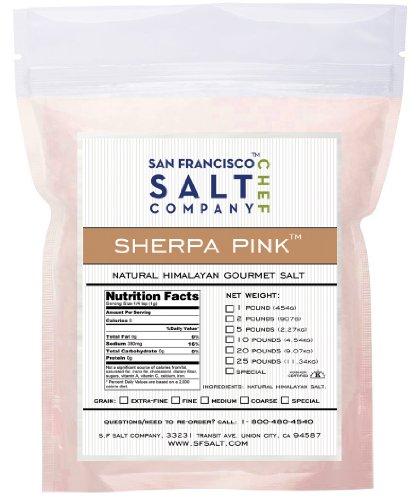 Sherpa Pink Himalayan Salt (2lb Bag Extra-Fine Grain)