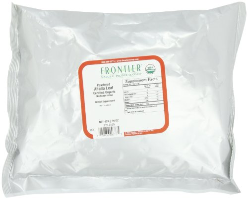 Frontier Alfalfa Leaf Powder Certified Organic, 16 Ounce Bag