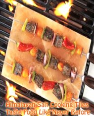 10×8 Inch Pure Himalayan Salt Tile for Grilling Cooking Serving FDA# 15073930442 Gourmet Organic and Pure