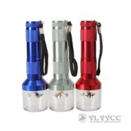 Ylyycc Electric Metal Grinder Zinc Alloy Herb Tabacco Grinder Crusher Color Send Randomly