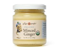 Organic Minced Ginger 4 Pack (6.7 Oz Ea)