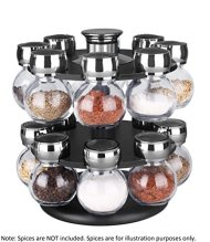 Home Basics 16pc Revolving Spice Rack SR44072