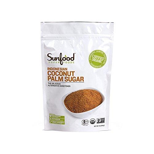 SunFood Coconut Palm Sugar Organic — 1 lb