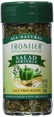 Frontier Organic Salad Sprinkle – Salt – Free Blend – 0.4 Ounces