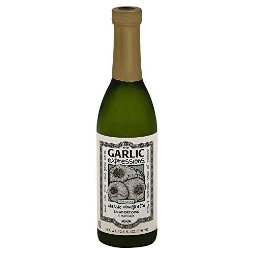 Garlic Expressions Classic Vinaigrette Salad Dressing & Marinade (Pack of 12)
