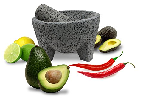 TLP Molcajete Mexican Mortar and Pestle 8.5″
