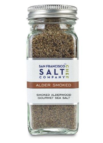 4 Oz Glass Shaker – Alderwood Smoked Sea Salt