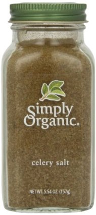 Simply Organic Celery Salt Certified Organic, 5.54-Ounce Container