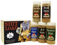 Special Shit – Shit Load Big Five Sampler (Pack of 5 Seasonings with 1 Each of Bull, Special, Good, Aw and Chicken)