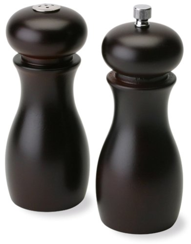 Olde Thompson 6-Inch Caffee Espresso Peppermill and Salt Shaker