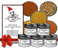 Chef Cherie's Indian Spice Gift Set #1 – Contains 5 2 oz. Tins