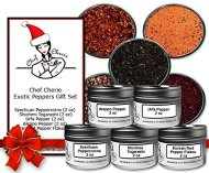 Chef Cherie's Exotic Peppers Spice Gift Set – 5 – 2 Oz. Tins