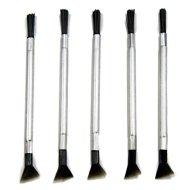 5pcs 4″ Herb Grinder Brush with Scraper Tool