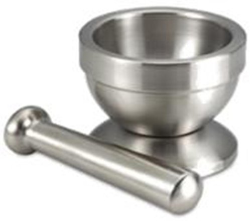 BC Classics Mortar and Pestle, Stainless Steel
