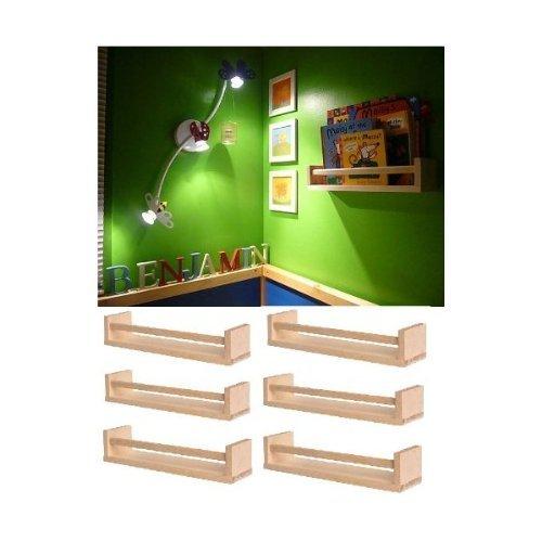 Ikea Wood Spice Rack 400.701.85, Pack of 6