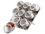 Meglio Magnetic Spice Rack (10-Piece)