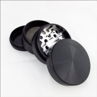 Sharpstone Herb Grinder 4 Piece Black and Cali Crusher Press