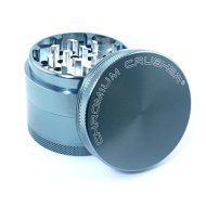 Chromium Crusher 2 Inch 4 Piece Tobacco Spice Herb Grinder – Light Blue