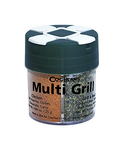 Coghlan's 0072 Multi-Grill Spice Pack – Four Herb Assortment