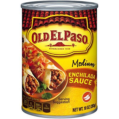 Old El Paso Enchilada Sauce, Medium Red, 10 Ounce