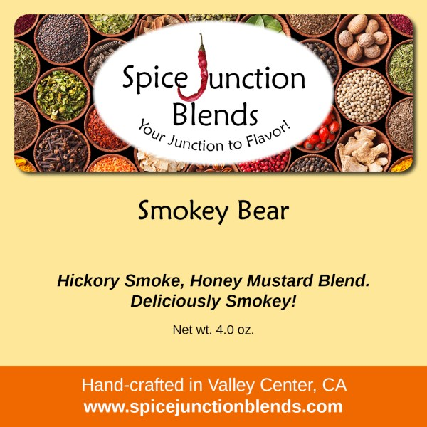 Smokey Bear Blend | Spice Junction Blends, Valley Center, California