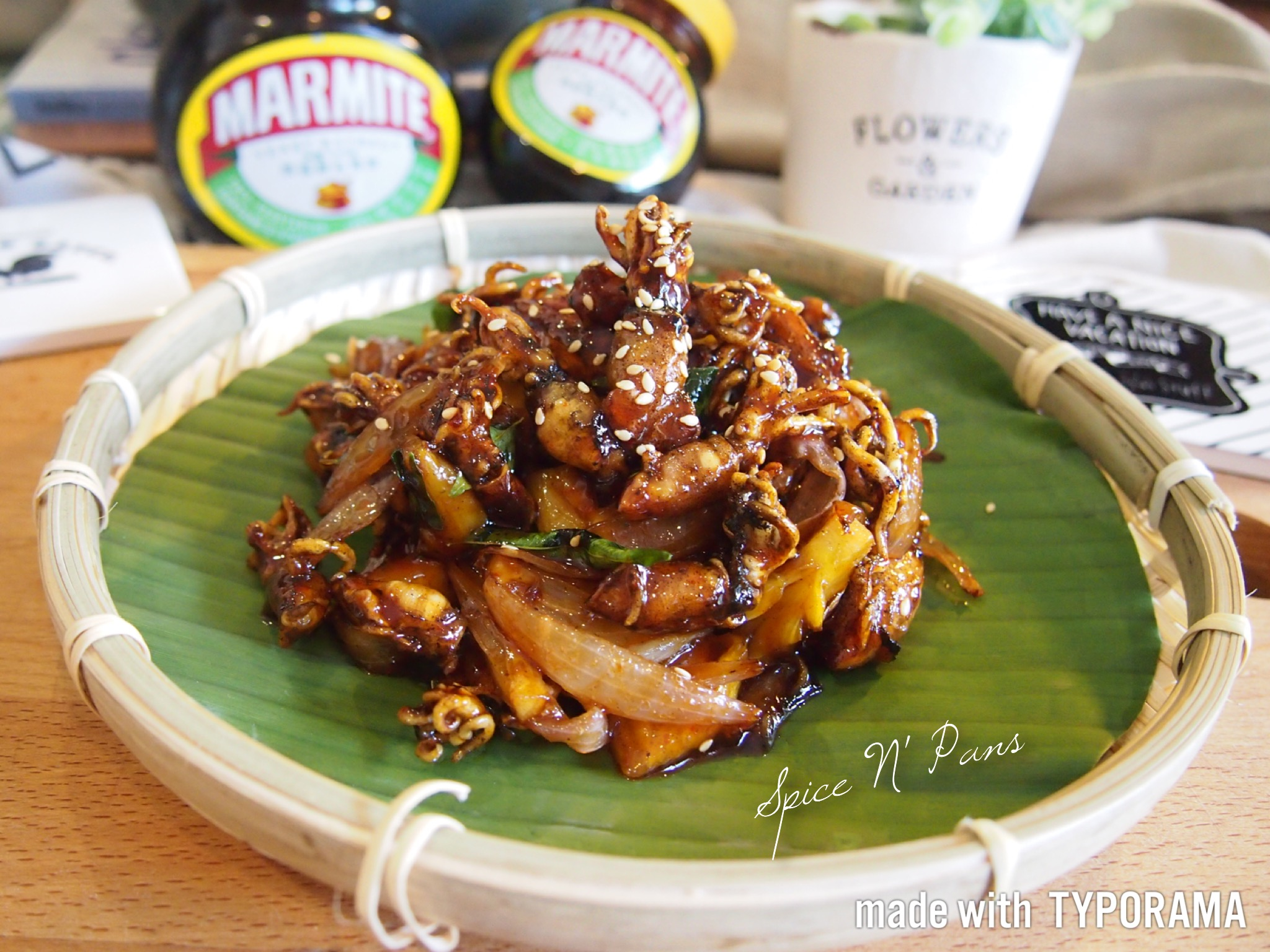 Awesome Marmite Crispy Baby Squid // 妈蜜香脆小苏东