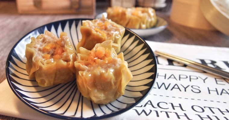 SUPER EASY Hong Kong Dim Sum Siu Mai 港式点心烧卖