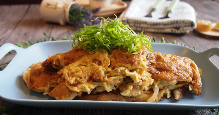 THE BEST Egg Foo Young 芙蓉蛋 Chinese Omelette