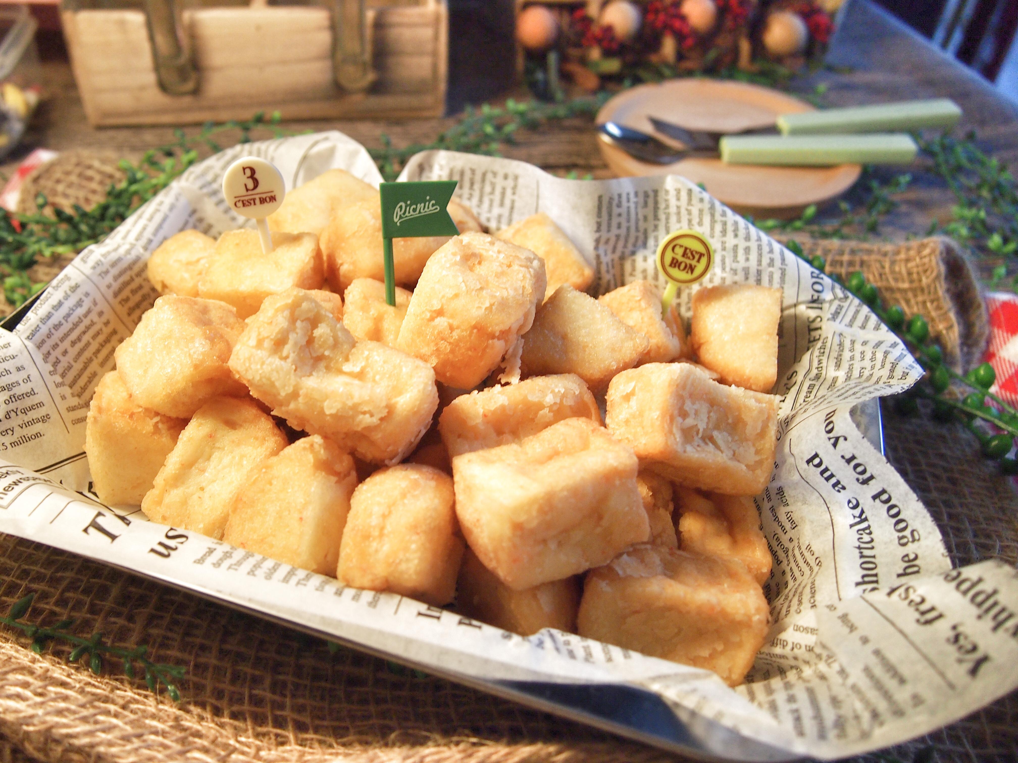 Super Easy Recipe: Homemade Crispy Seafood Tofu 自制海鲜豆腐