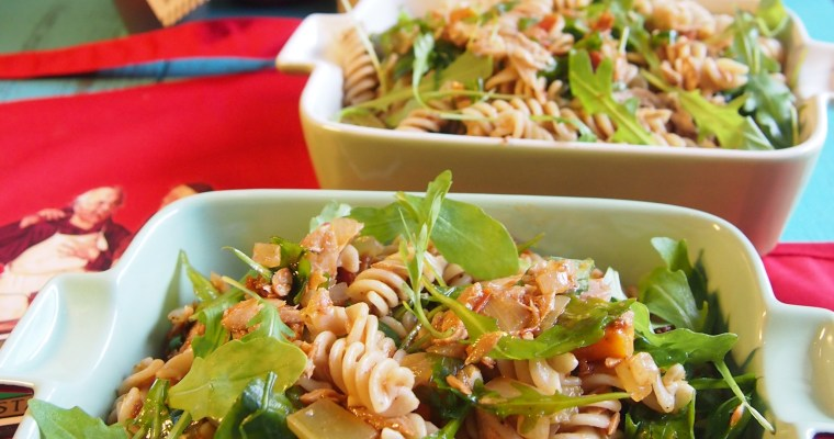 Super Yummy Tuna Spiral Pasta