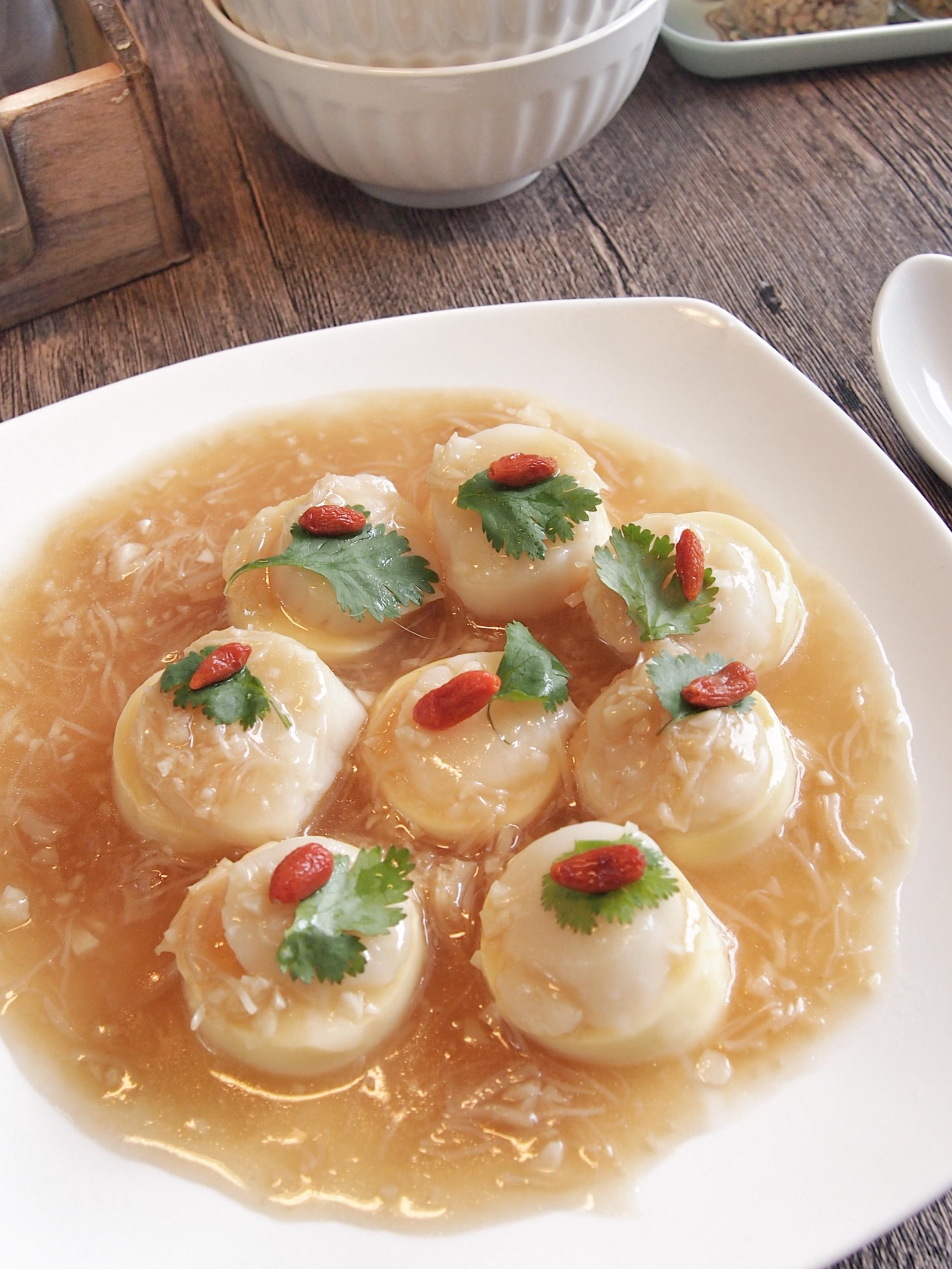 SUPER EASY & YUMMY RECIPE: Scallop Tofu in Superior Sauce