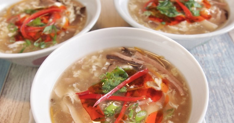 SUPER EASY RECIPE: Hot & Sour Soup