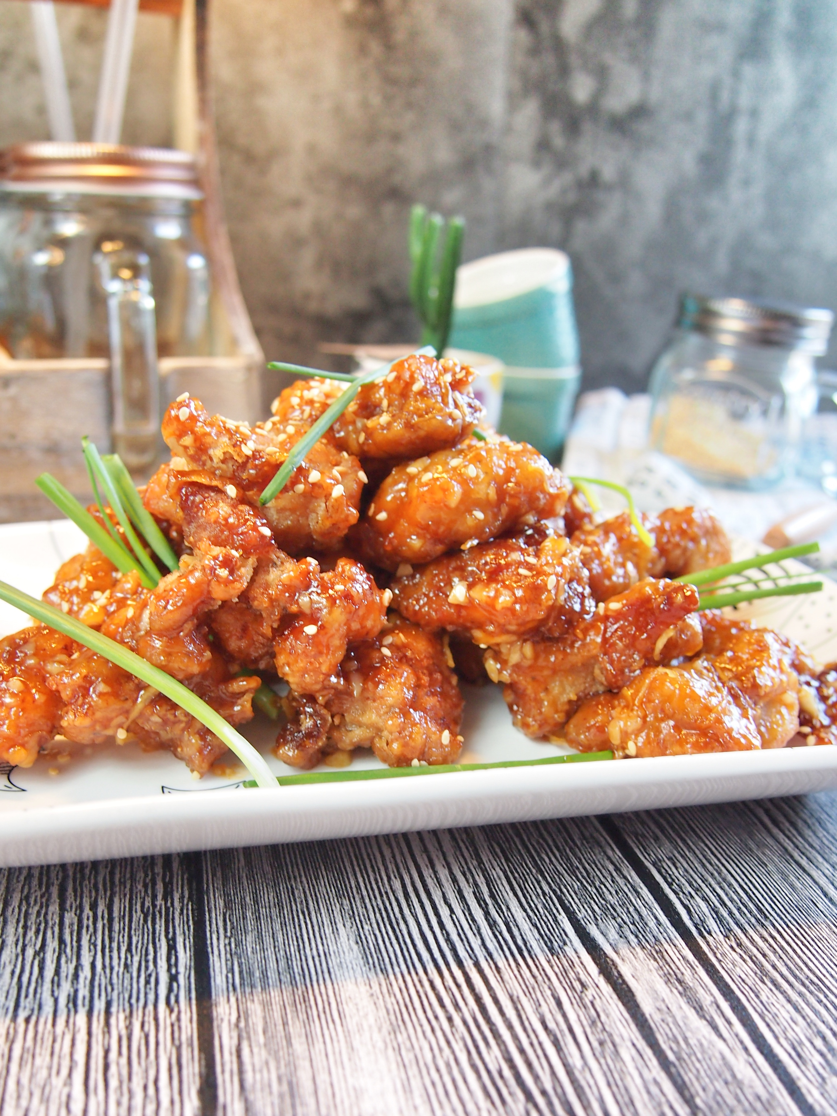 Super easy chinese honey chicken recipe spice n pans super easy chinese honey chicken recipe forumfinder Choice Image