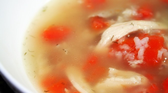 Chicken and Rice Soup (Canja)